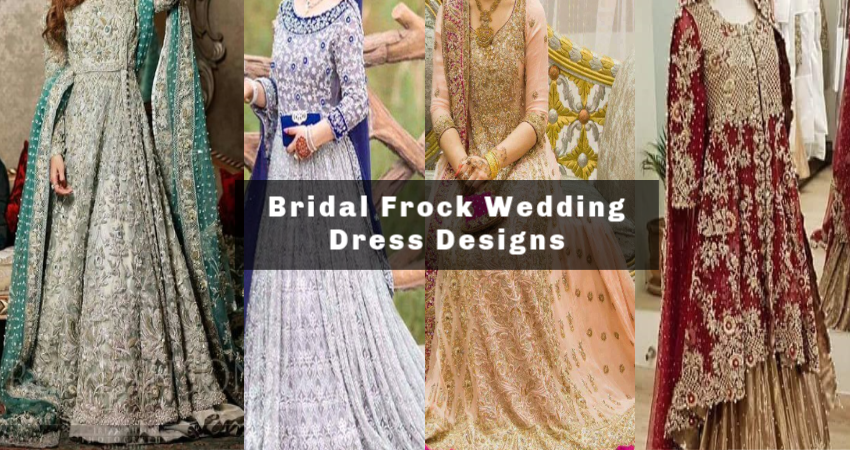 Charming Indian Pakistani Bridal Frocks Ideas For Wedding Dress Style N Stylu