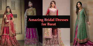 Amazing Barat Dress Ideas for Bridal Wear