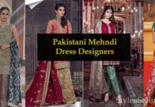 Best Mehndi Dress Designers in Pakistan