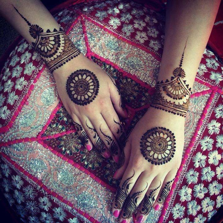 Arabic Mehndi Design For Wedding