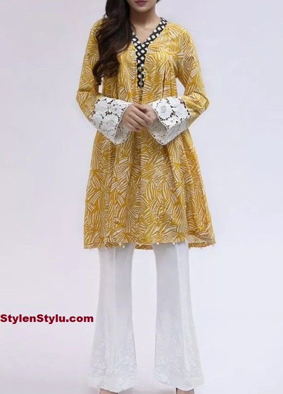 LAWN-SHORT-FROCK-WITH-SHARARA-2020-StylenStylu.