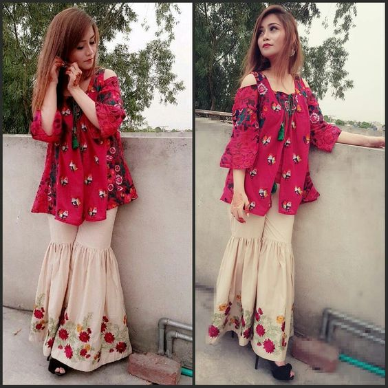 7 Best Pakistani And Indians Short Frock Designs For