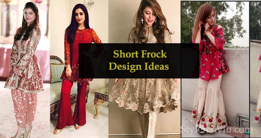 7 Best Pakistani And Indians Short Frock Designs For Events