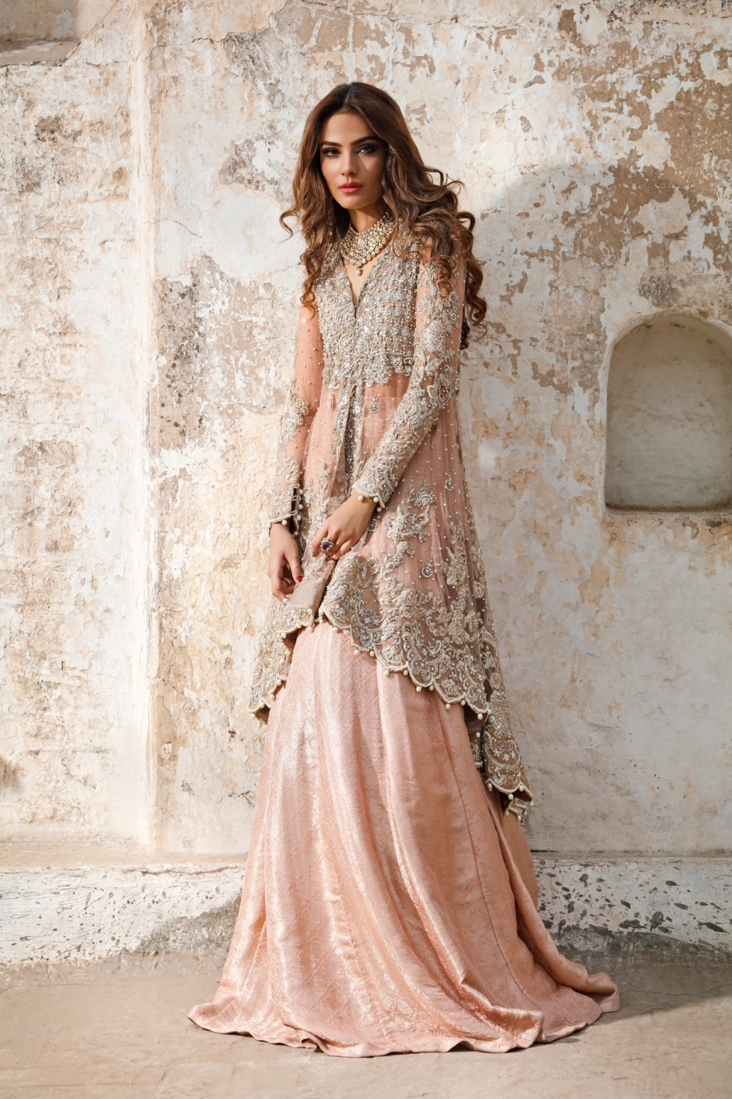 engagement lehenga dress