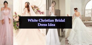 Pakistani Christian Wedding Dress Design & Ideas