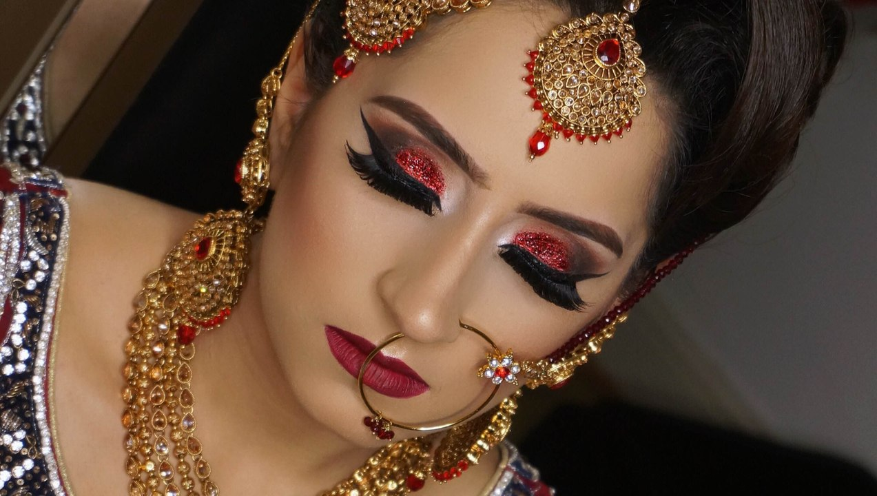Pakistani Bridal Eye Makeup Ideas for Barat and Valima - Style N Stylu