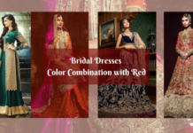 4 Latest Bridal Dresses Color Combinations in 2020