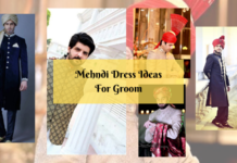 7 Best Groom Mehndi Dress Design Ideas