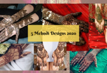 5 Best Mehndi Designs for Brides For Barat & Walima in 2020