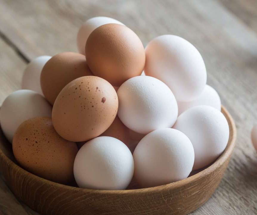 Eggs also consists of various essential nutrients including different vitamins.