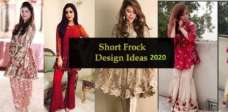 8 Best Pakistani and Indians Short Frock Designs For Events & Party Wear 2020